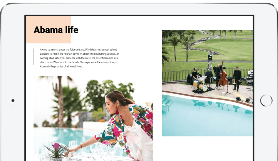 Arriving to our luxury resort in Tenerife | Abama Resort Map