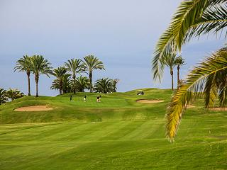 Los greens de Abama resort de golf de lujo