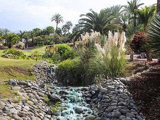 Abama luxury golf resort landscape