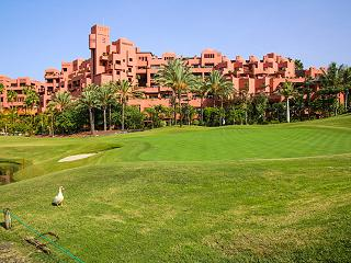 Le golf d'Abama Resort de Luxe