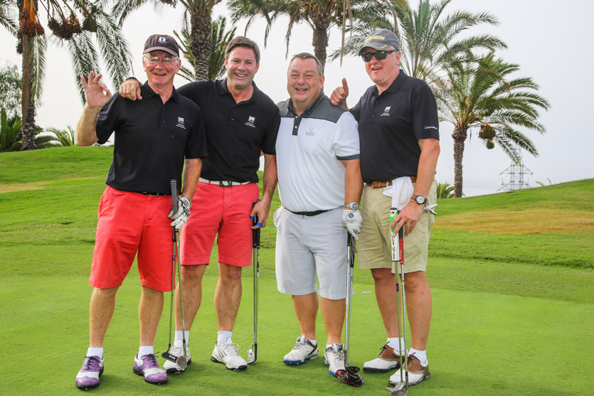 Golfers at the 2015 Abama Owners Cup