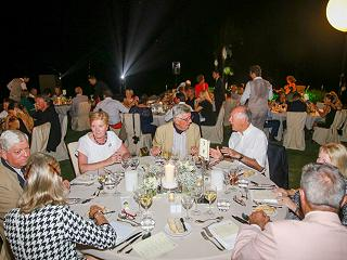 Panorama of the Gala Dinner