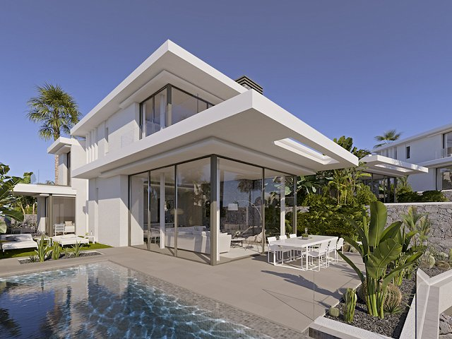 New houses for sale in Tenerife: Abama's Las Casas del Lago II