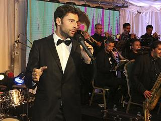 Bruno Oro & The Tenerife Big Band en concierto en Abama Resort