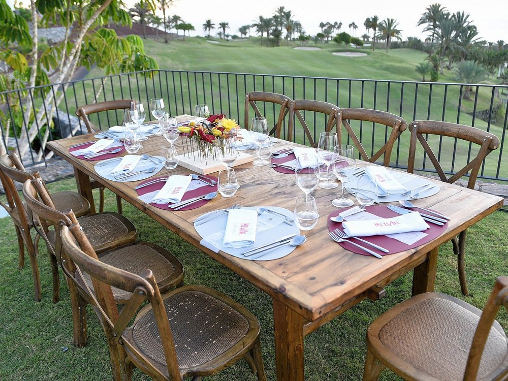 An Owners' Dinner catered by Martín Berasategui's Melvin at Abama Tenerife