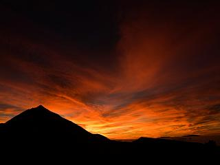 Island sunsets near your luxury property on Tenerife