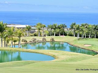 view over the atlantic from Abama luxury golf resort