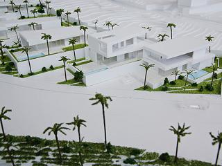 model of Las Casas del Lago luxury villas