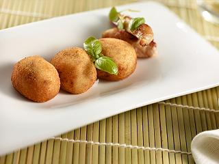 Chicken croquettes from Melvin restaurant