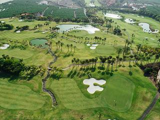 Dave Thomas golf course at Abama exclusive homes on Tenerife
