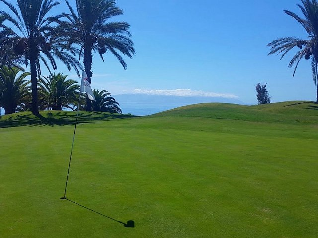 The spectacular Dave Thomas golf course at Abama Luxury Residences Tenerife
