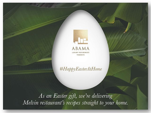 An Abama Tenerife Easter at home