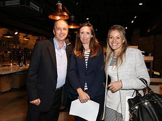 Attendees at the Hedonism Wines event