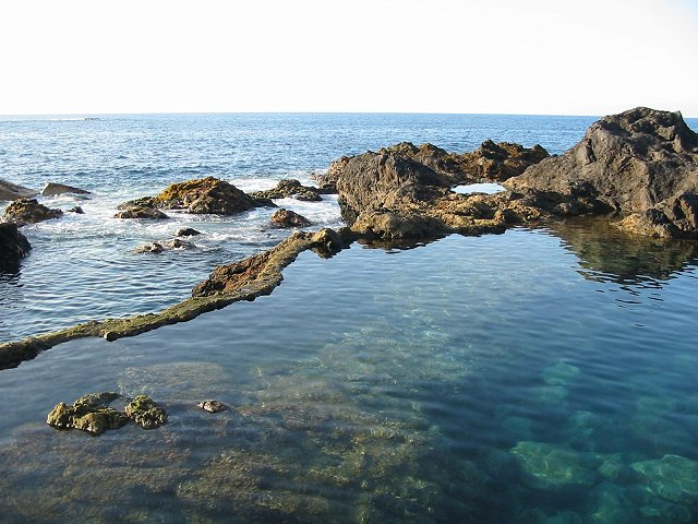 Natural pools in Tenerife, another treasure near Abama Resort