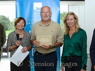 Organizers and winner of the Keerbergen Golf Tournament