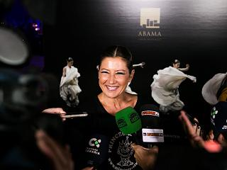 Sara baras at the abama resort gala