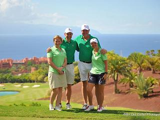 Stunning views from our golf course on Tenerife
