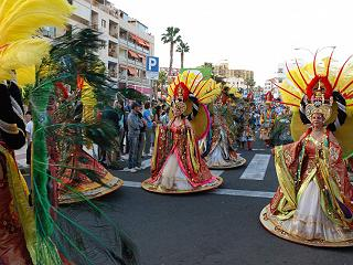 Tenerife Carnival near Abama Resort