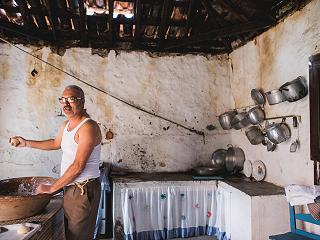 Traditional baking in Chirche near Abama luxury homes on Tenerife