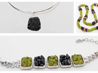 Volcanic jewellery from Tenerife near our luxury residences at Abama
