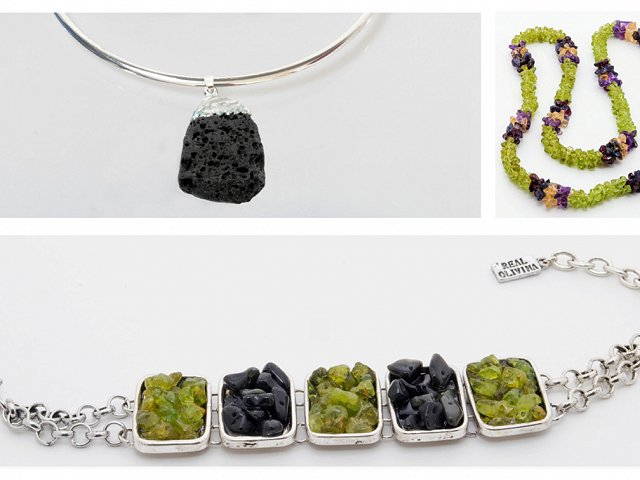 Jewellery made with lava, a caprice you should succumb to during your next stay at your luxury residence on Tenerife